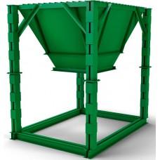 Бункер хранения инертных материалов (песка и щебня)