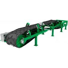 Ленточный транспортер желобчатого типа серии ЛК-Ж