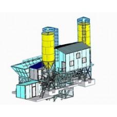 Бетоносмесительная установка СБ-145-3Б