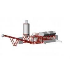 Мобильная бетоносмесительная установка СБ-241-2